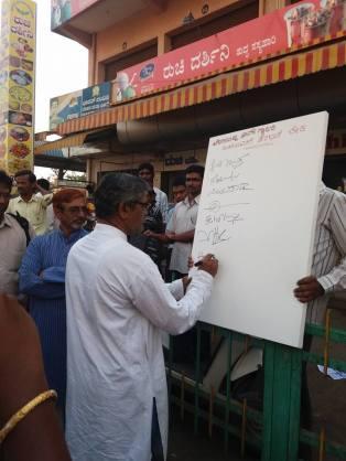 Prabhu Harsoor signing