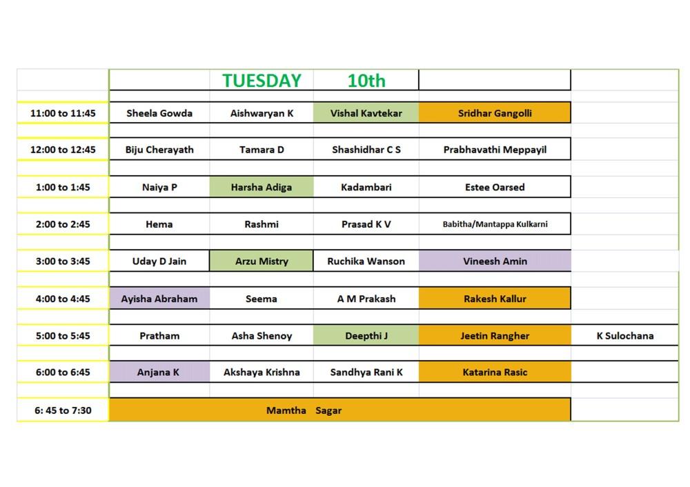 Tuesday 2
