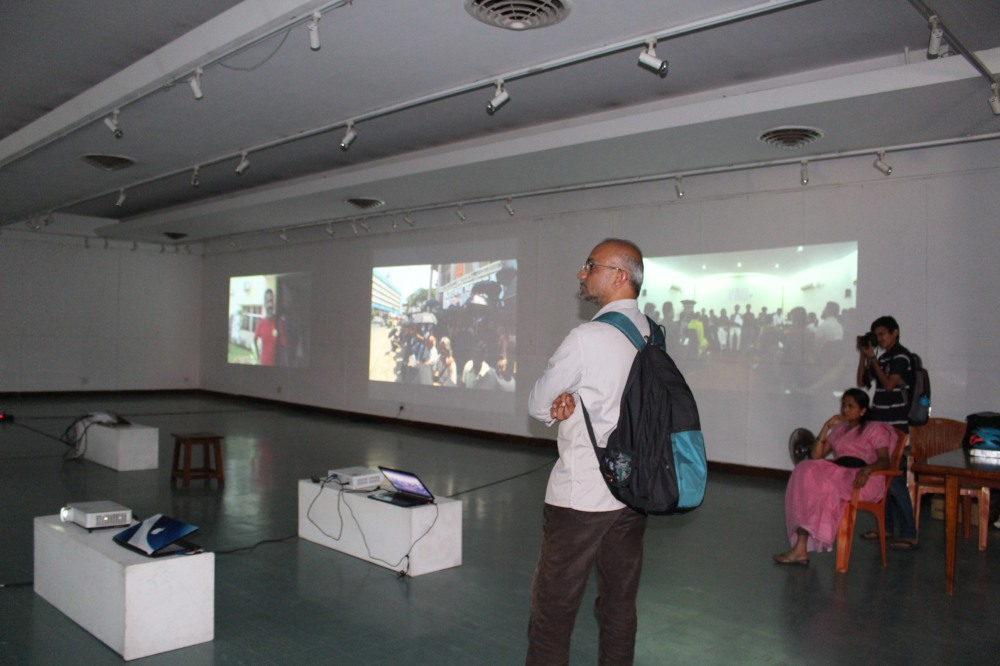 Videos of VAG Forum Protest Events streamed inside the gallery (2) (1)